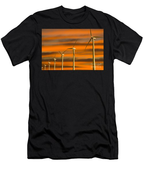 Windmill Farm Men's T-Shirt (Athletic Fit)