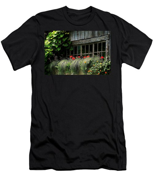 Window Boxes Men's T-Shirt (Athletic Fit)