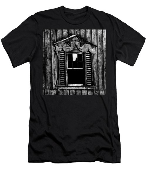 Window Pane Men's T-Shirt (Athletic Fit)