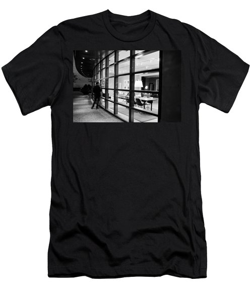 Window Shopping In The Dark Men's T-Shirt (Athletic Fit)