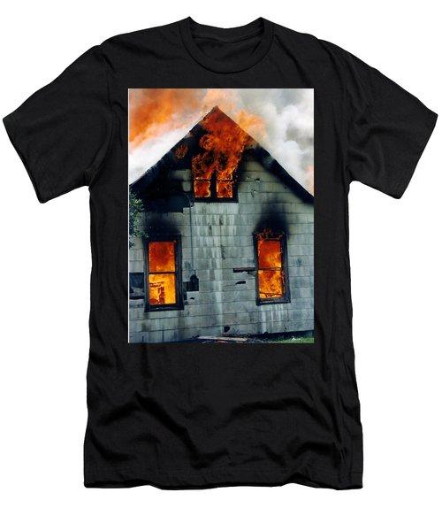 Windows Aflame Men's T-Shirt (Athletic Fit)