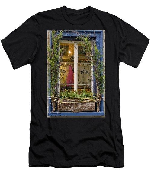 Windows Of Quebec 3 Men's T-Shirt (Athletic Fit)