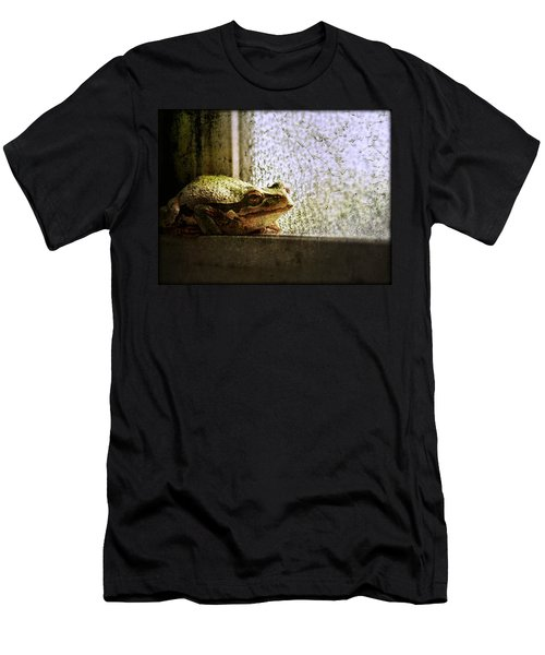Windowsill Visitor Men's T-Shirt (Athletic Fit)