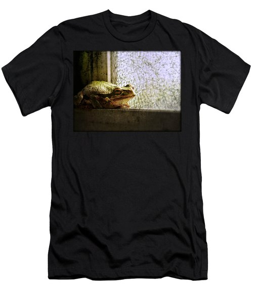 Windowsill Visitor Men's T-Shirt (Athletic Fit)