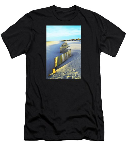 Windswept At Sunset - Jersey Shore Men's T-Shirt (Athletic Fit)