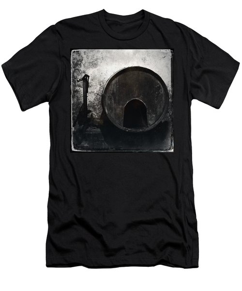 Wine Barrel Men's T-Shirt (Athletic Fit)