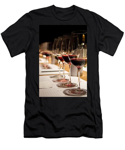 Wine Tasting Men's T-Shirt (Athletic Fit)