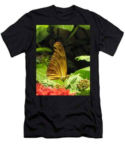 Wings Of Gold Men's T-Shirt (Slim Fit) by Jennifer Wheatley Wolf