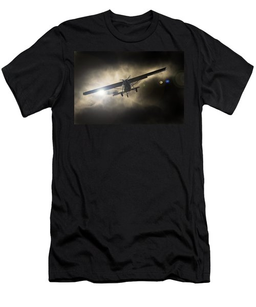 Men's T-Shirt (Athletic Fit) featuring the photograph Wings by Paul Job
