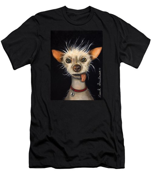 Winner Of The Ugly Dog Contest 2011 Men's T-Shirt (Athletic Fit)