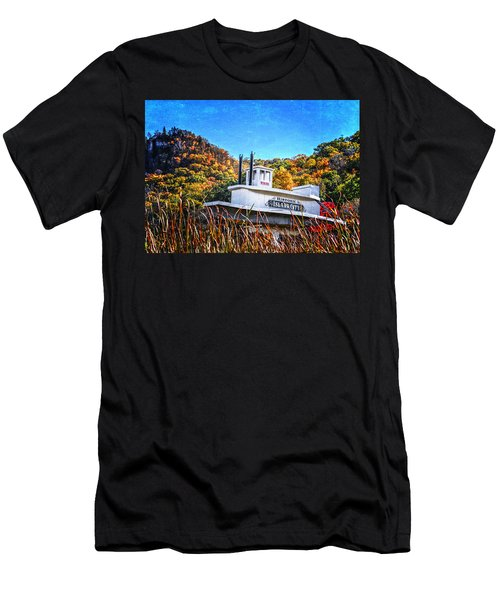 Winona Steamboat Sign Men's T-Shirt (Athletic Fit)
