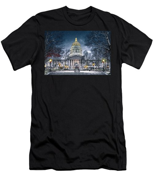 Winter At The Capitol Men's T-Shirt (Slim Fit)