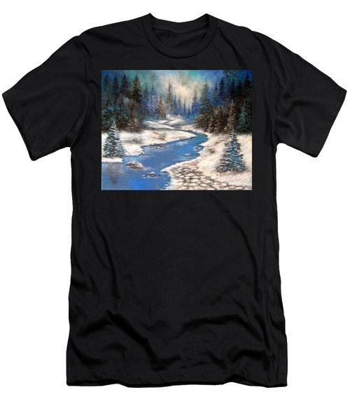 One Little Blue Men's T-Shirt (Athletic Fit)