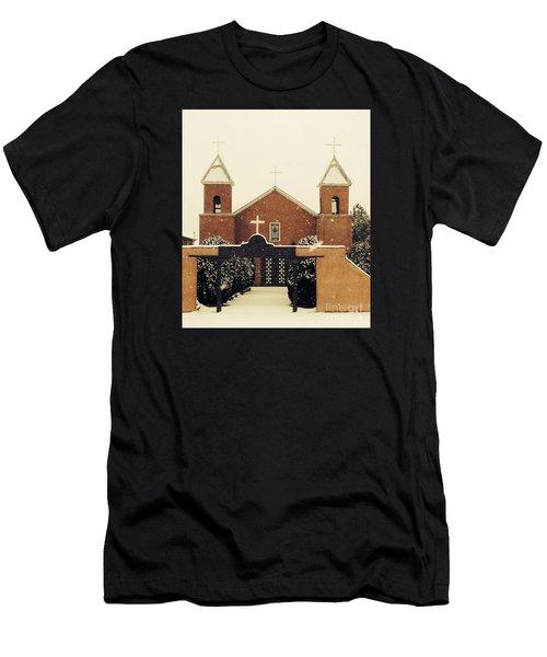 Winter Church Men's T-Shirt (Athletic Fit)