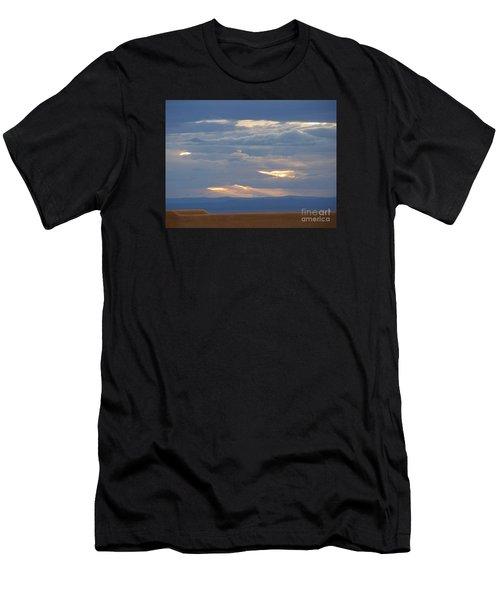 Winter Clouds Men's T-Shirt (Athletic Fit)