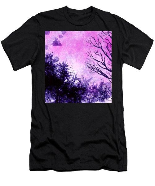 Winter Dreams  Men's T-Shirt (Athletic Fit)