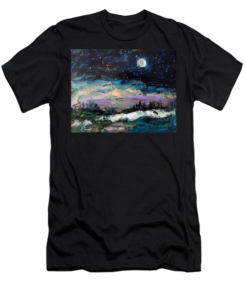 Winter Eclipse Men's T-Shirt (Athletic Fit)