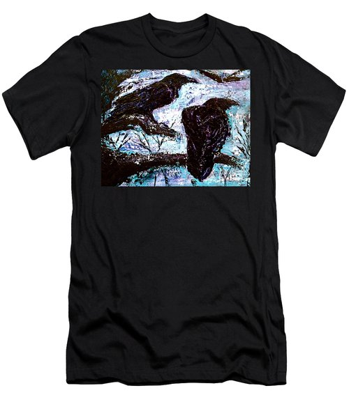 Winter Is Coming Men's T-Shirt (Slim Fit) by D Renee Wilson