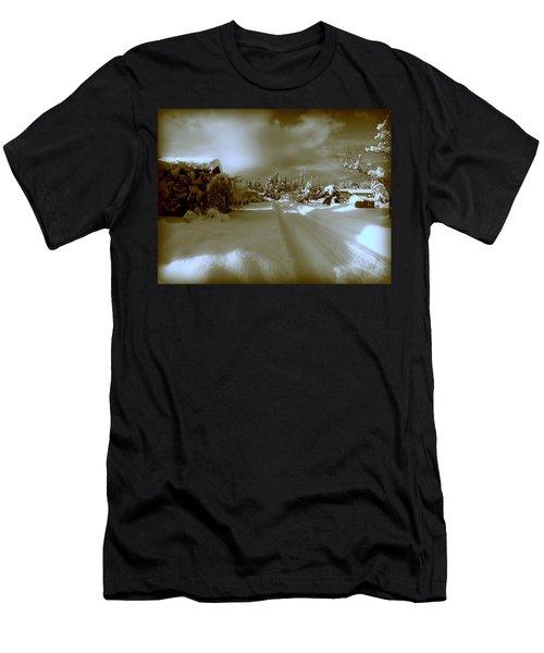 Winter Lane Men's T-Shirt (Athletic Fit)