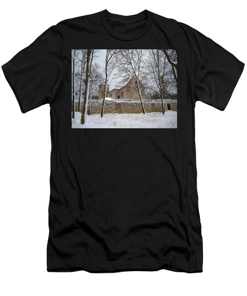 Men's T-Shirt (Slim Fit) featuring the photograph Old Monastery by Gabriella Weninger - David
