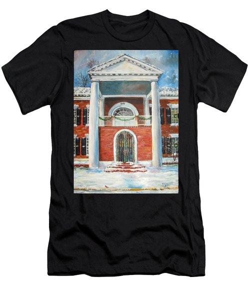 Winter Spirit In Dahlonega Men's T-Shirt (Athletic Fit)