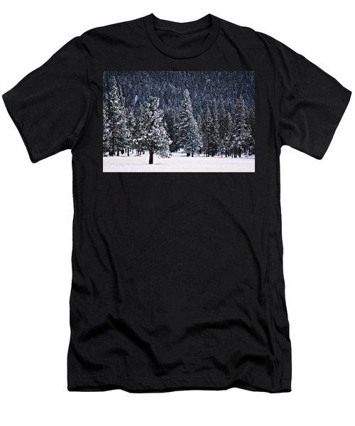 Winter Wonderland Men's T-Shirt (Slim Fit) by Melanie Lankford Photography