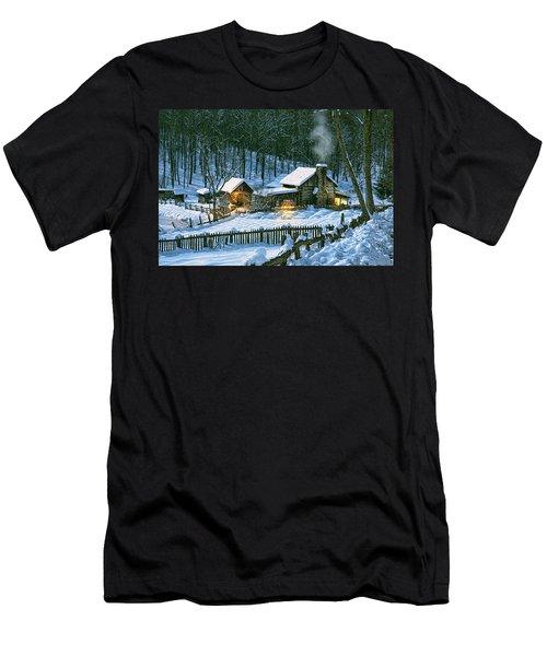 Winter's Haven Men's T-Shirt (Athletic Fit)