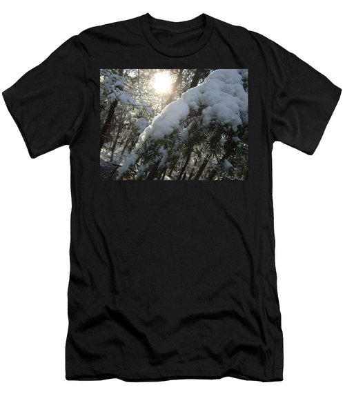 Winter's Paw Men's T-Shirt (Athletic Fit)