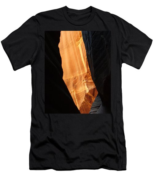Wire Pass - Buckskin Wash 10 Men's T-Shirt (Slim Fit) by Jeff Brunton