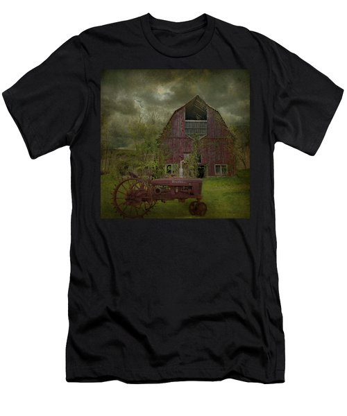 Wisconsin Barn 3 Men's T-Shirt (Athletic Fit)