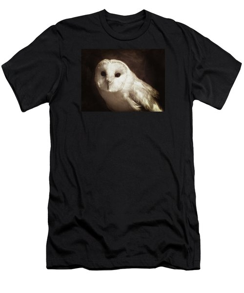 Wisdom Of An Owl Men's T-Shirt (Athletic Fit)