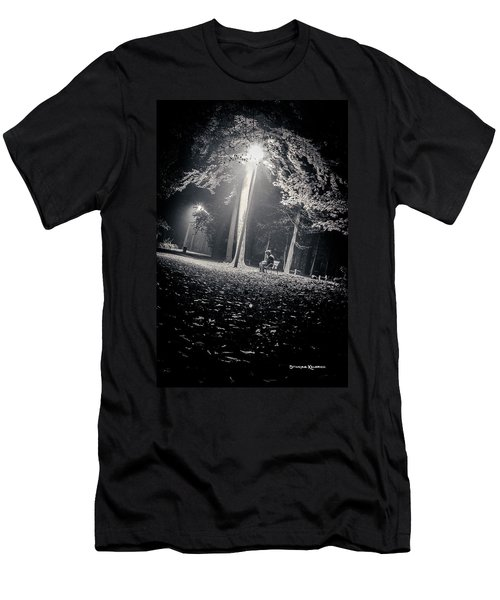 Men's T-Shirt (Athletic Fit) featuring the photograph Wish You Were Alone by Stwayne Keubrick