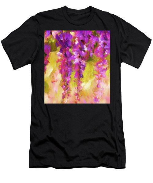Wisteria Dreams Men's T-Shirt (Athletic Fit)
