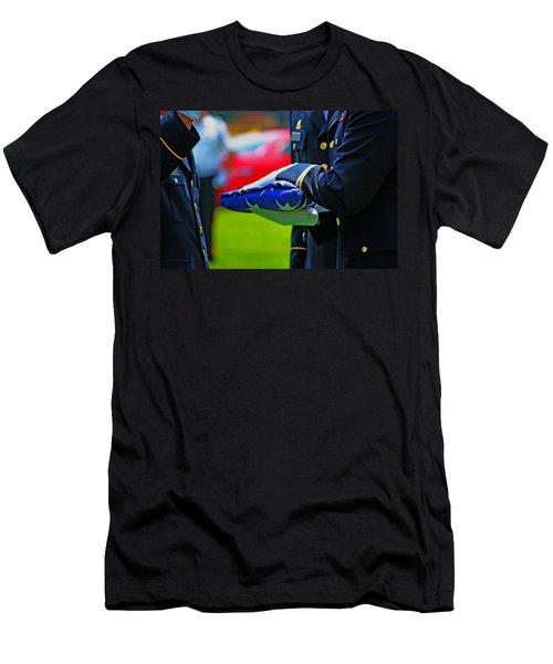 With Honor Men's T-Shirt (Slim Fit) by Rowana Ray