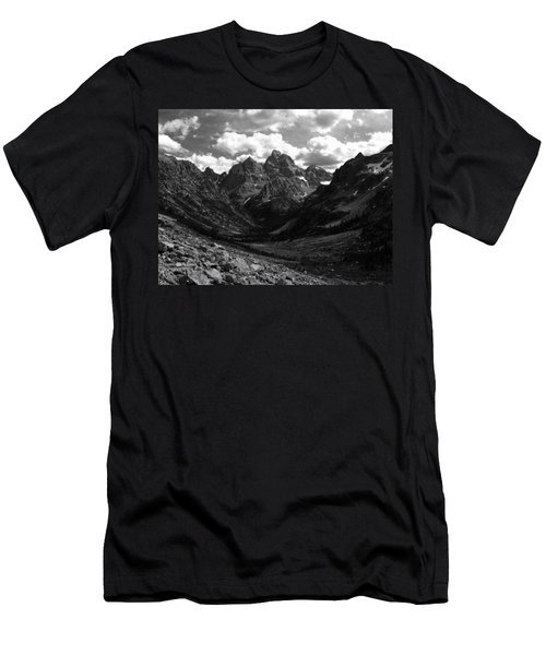 Men's T-Shirt (Slim Fit) featuring the photograph Within The North Fork Of Cascade Canyon by Raymond Salani III