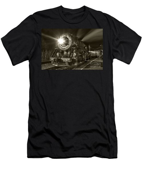 Wmsr Engine 734 At The Frostburg Depot Men's T-Shirt (Athletic Fit)