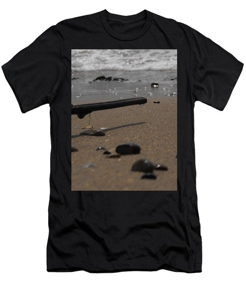 Wonder On This Beach Men's T-Shirt (Athletic Fit)