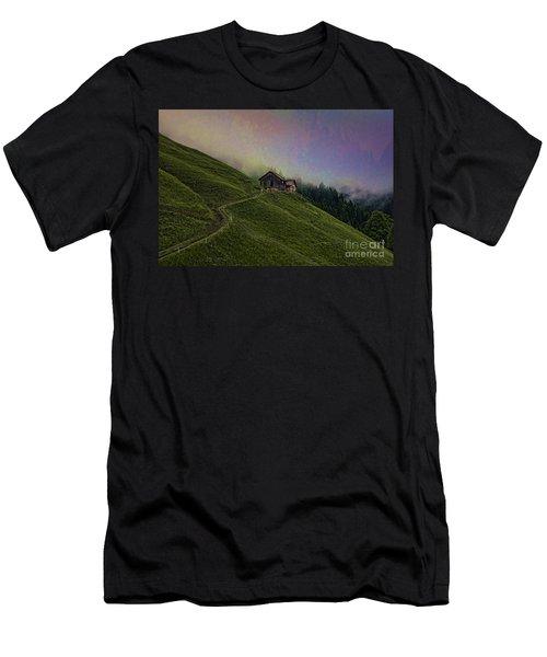 Wonderland-2 Men's T-Shirt (Athletic Fit)