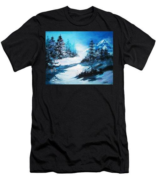 Wonders Of Winter Men's T-Shirt (Athletic Fit)