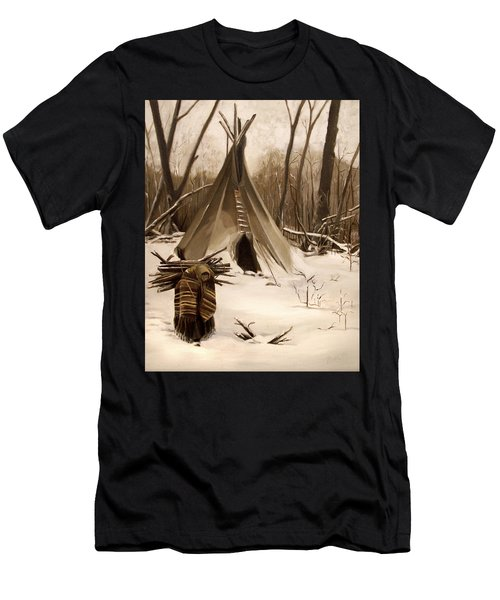 Wood Gatherer Men's T-Shirt (Athletic Fit)