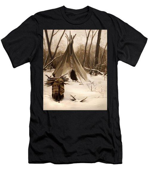 Wood Gatherer Men's T-Shirt (Athletic Fit)