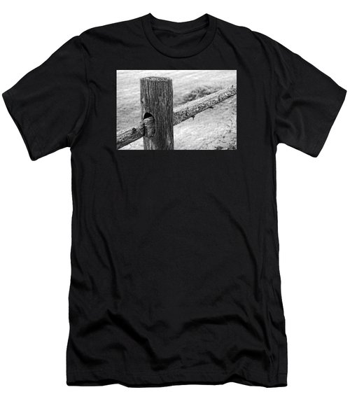 Wood Railing Men's T-Shirt (Athletic Fit)