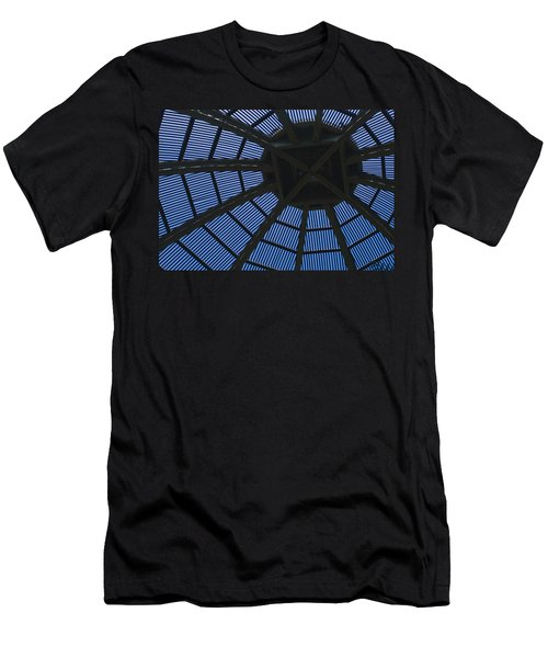 Wooden Dome Men's T-Shirt (Athletic Fit)