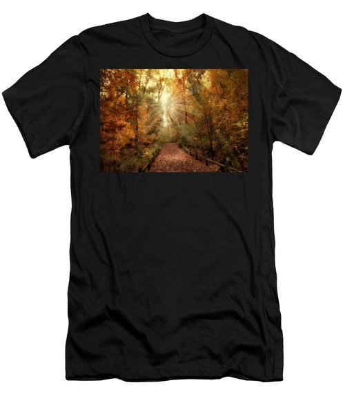 Woodland Light Men's T-Shirt (Athletic Fit)