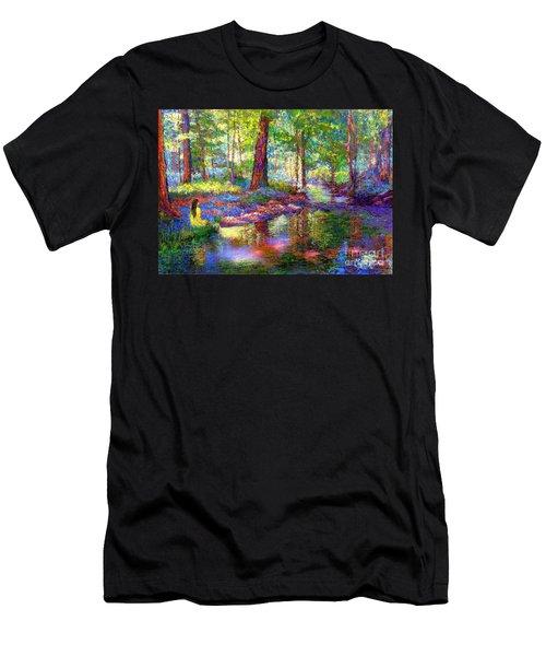 Woodland Rapture Men's T-Shirt (Athletic Fit)