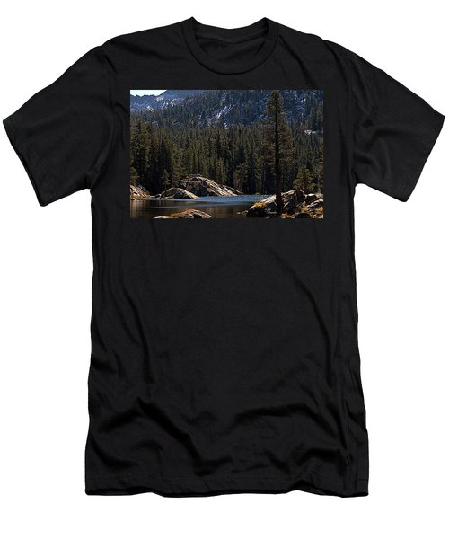 Woods Lake Men's T-Shirt (Athletic Fit)