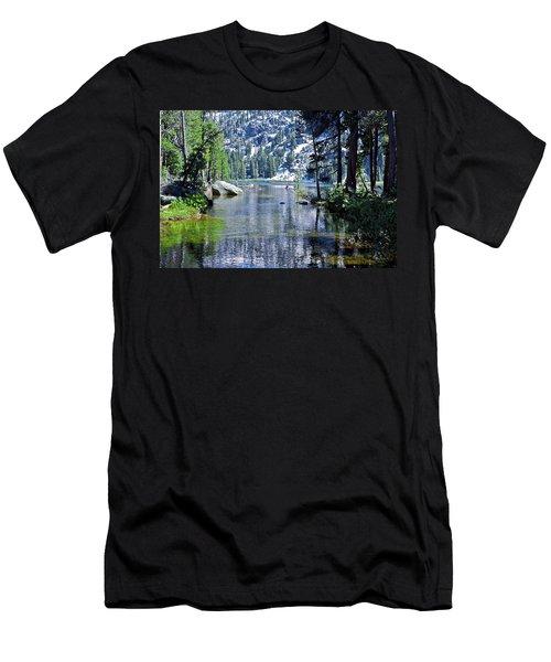 Woods Lake Men's T-Shirt (Athletic Fit)