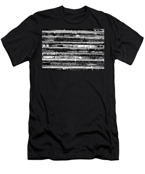Words Of The Cross Men's T-Shirt (Athletic Fit)