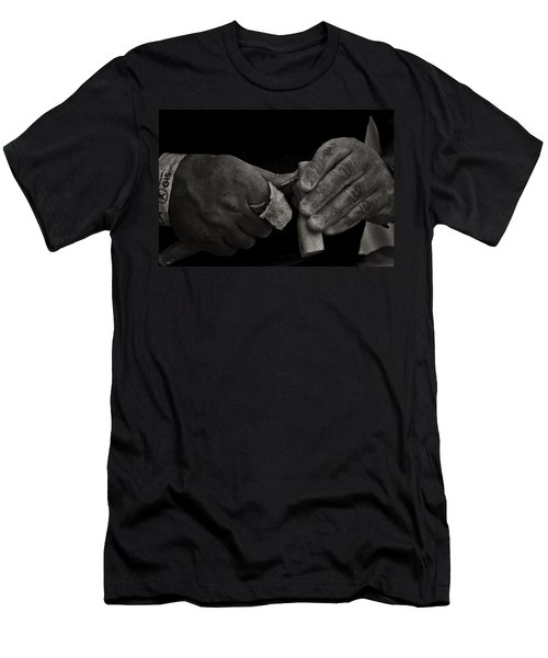 Working Hands Men's T-Shirt (Athletic Fit)