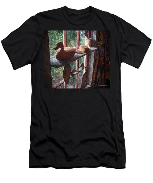 Workshop Window Men's T-Shirt (Slim Fit) by Brian Wallace